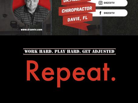 Work Hard   Play Hard   Chiropractic