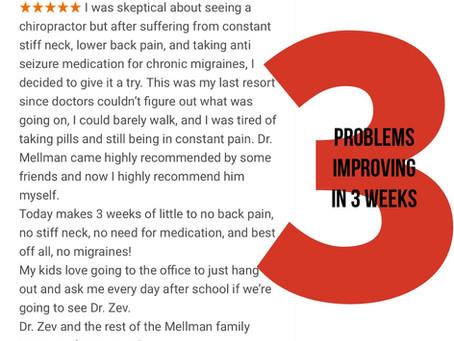 Migraines • Chiropractic