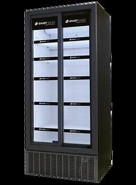 frigoglass enjoy sales kyl dubbeldörr skjutdörrar led hyllkantslister dekorering leverans redan idag