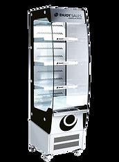impulskyl öppen enkel design enjoy sales dekorering hyllkantslister ventilerande kyla logga glas handtag snabb leverans inrikes