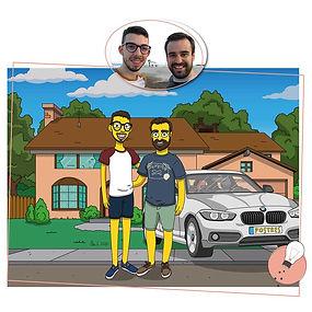 rrss pareja coche simpson-01.jpg