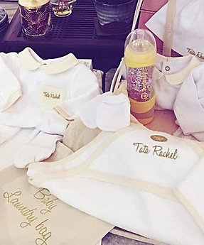 Premium Gold -Vanity including 22 baby products (0-6 months) - Tata Rachel