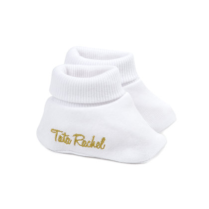 Don Gold - Newborn Booties - Tata Rachel
