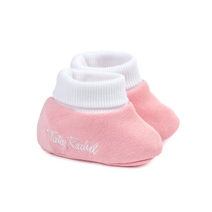 Don Pink - Newborn Booties - Tata Rachel