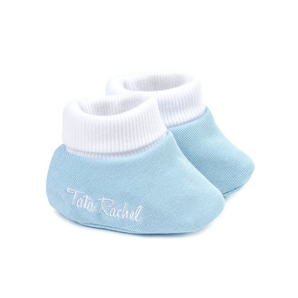 Don Blue - Newborn Booties - Tata Rachel