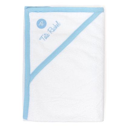 Capucine Bleu - Cape de bain (0-6 mois) - Tata Rachel