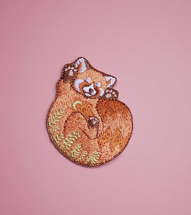 Patch thermocollant Panda Roux