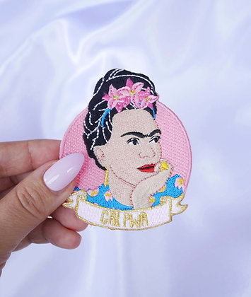 Broderie thermocollante : Frida Girl Power