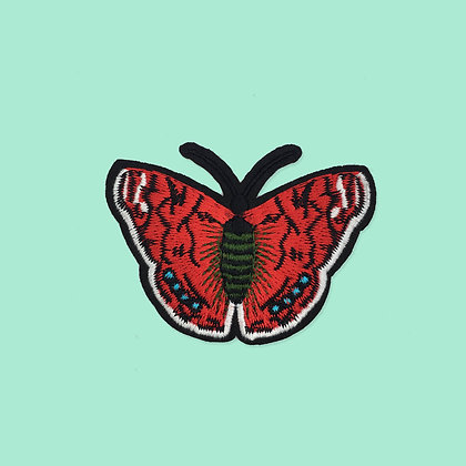 Patch thermocollant Papillon rouge
