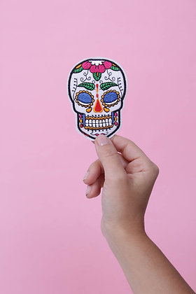 Patch thermocollant dia del muertos mexicaine