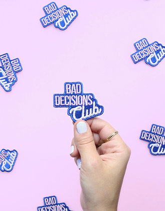 Patch thermocollant Bad Decision Club