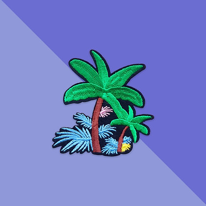 Patch thermocollant jungle tropicale