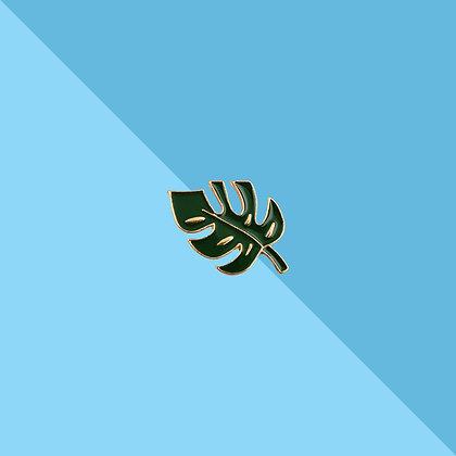 Pin's feuille de palmier
