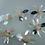 Thumbnail: Applique sequin reflet et perles rose