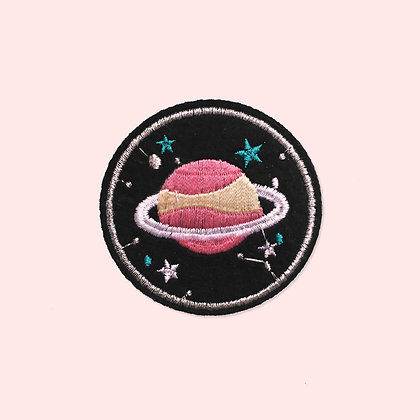 Patch thermocollant planète rose