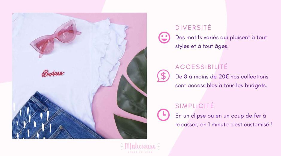 Malicieuse concept marque française
