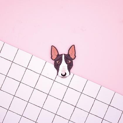 Patch thermocollant tete de chien Terrier