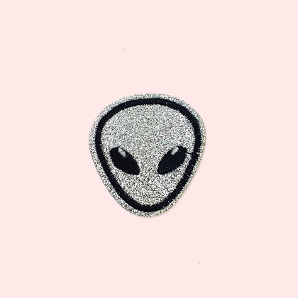 Patch thermocollant Alien à paillettes
