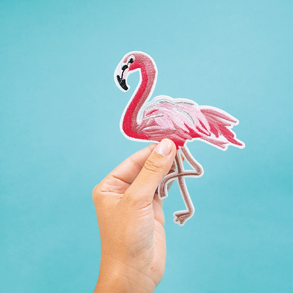 Patch thermocollant Flamingo géant