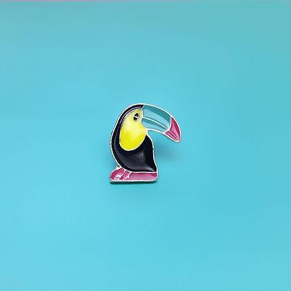 Pin's toucan multicolor