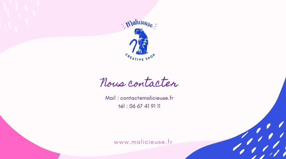 Contactez Malicieuse