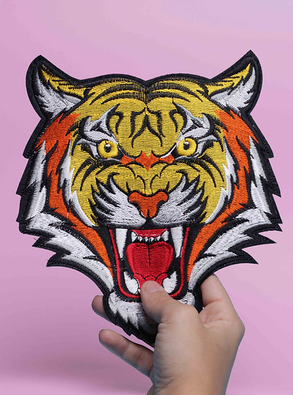 Patch thermocollant Tigre XXL