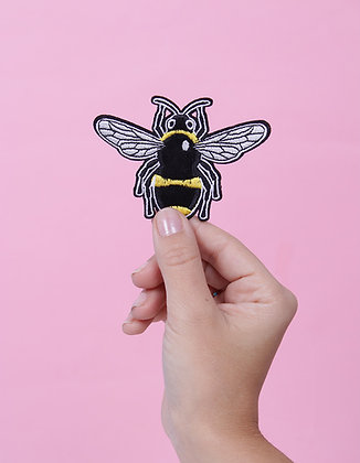 Patch thermocollant abeille velours