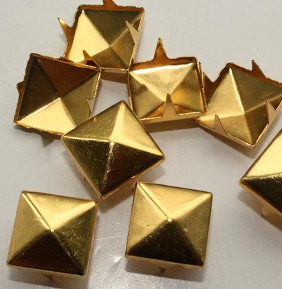 Pyramide XXL doré / lot de 10