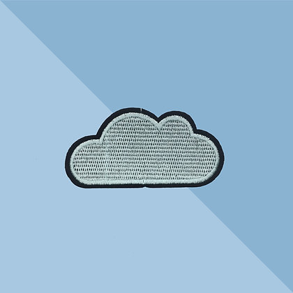 Patch thermocollant Nuage