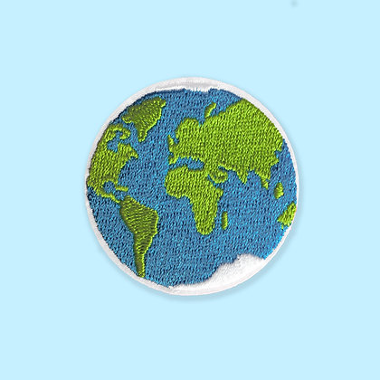 PRÉ-COMMANDE : Patch thermocollant planète terre
