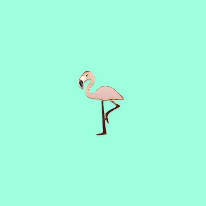 Pin's flamant rose
