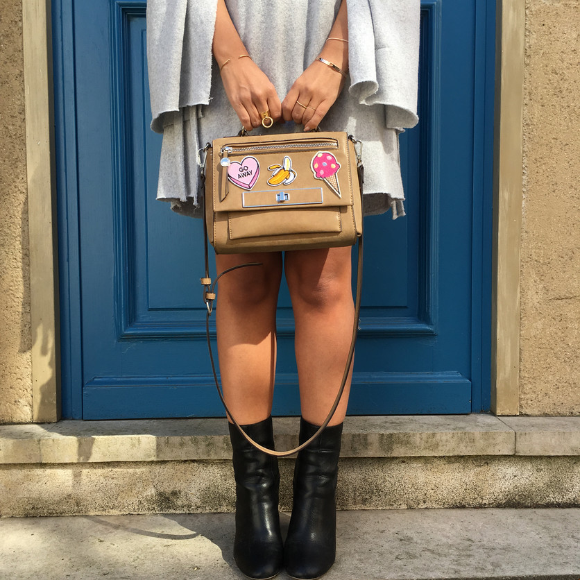 ► TUTO ◄ Mon sac en patchs !