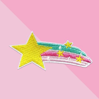 Patch thermocollant comète étoile féerique