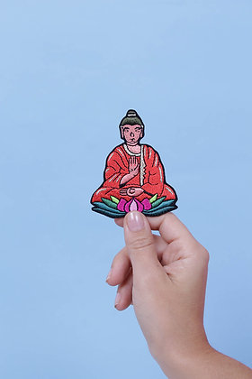 Patch thermocollant buddha