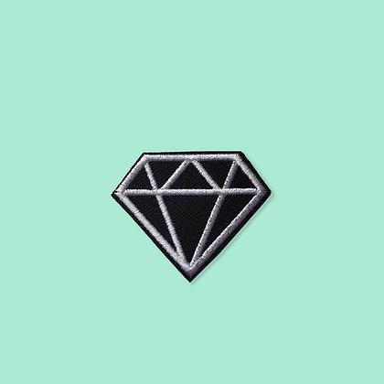 Patch thermocollant Diamant noir