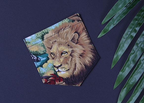 Poche thermocollante Lion