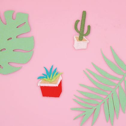 Patch thermocollant mini cactus