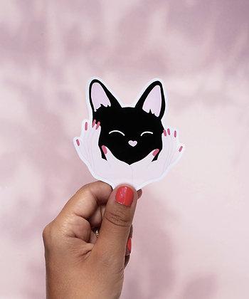 Sticker Cat Hug