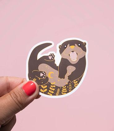 Sticker Loutre