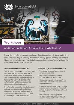 LEAFLET-Workshop-Addiction Affliction or