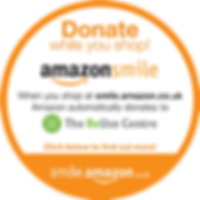 Button to support The ReUse Centre through Amazon Smile