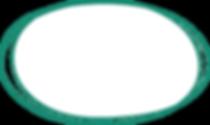 IMAGE-Hand drawn oval button-D Green Par