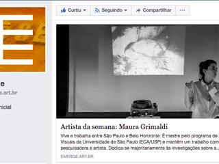 Artista da semana: Maura Grimaldi