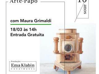 Maura Grimaldi | às 14h | Entrada Gratuita