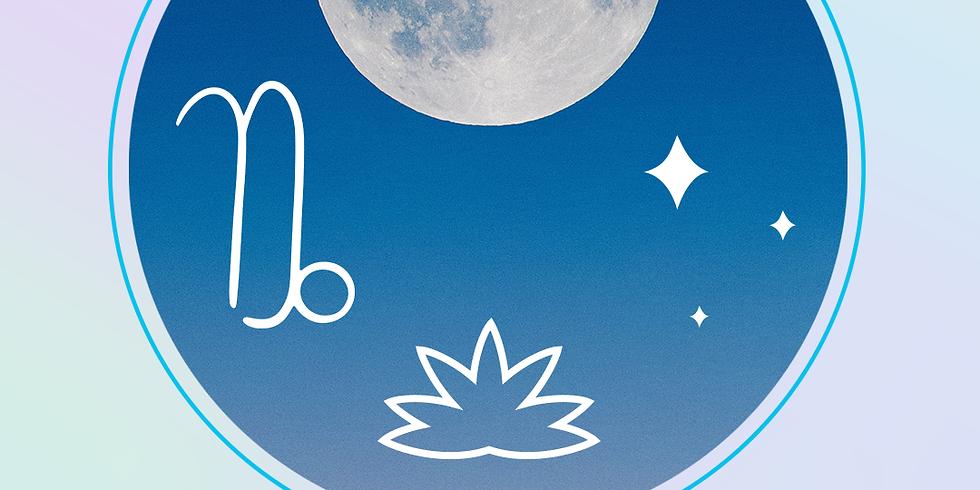 Galactic Rituals : Capricorn Full Moon Tea Ceremony, and Sound Journey