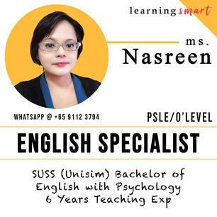 Ms. Nasreen