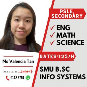 Ms. Valencia Tan