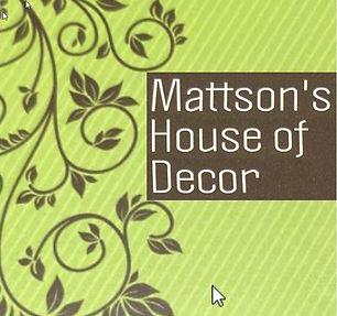 Mattsons House       of Decor