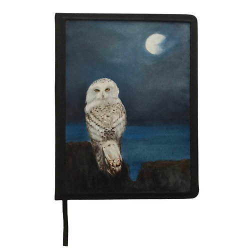 Hand Painted Owl Journal #1