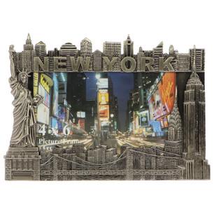 MR_S001 New York metal photo frame